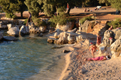 Beaches in Rovinj